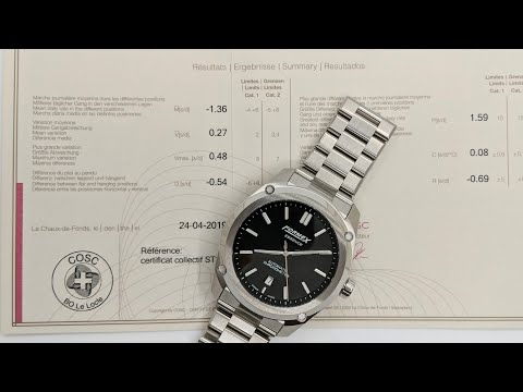 A Very Affordable Swiss Automatic Chronometer Watch - The Formex Essence