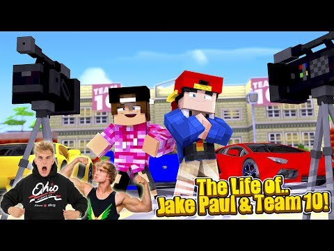 Minecraft LIFE OF - ROPO & JACK LIVE THE LIFE OF JAKE & LOGAN PAUL!!!