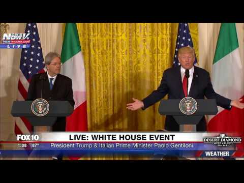 FNN: President Trump and Italian Prime Minister Hold Joint Press Conference at White House