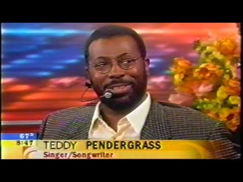 Teddy Pendergrass in wheelchair sings 'Love TKO' in 2001