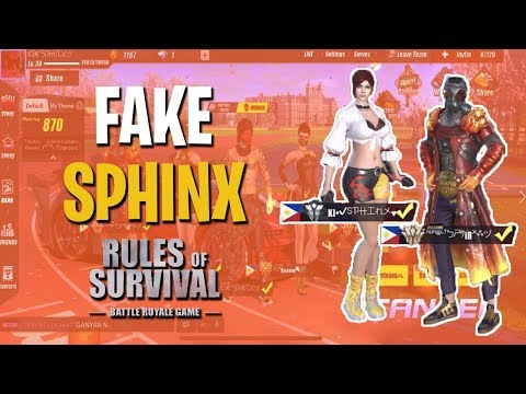 TEAM UP WITH OTHER SPHINXES??? - Rules of Survival (Tagalog)