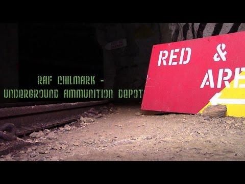 RAF CHILMARK - UNDERGROUND AMMUNITION DEPOT