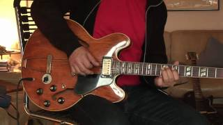 Early 70's Gibson ES-345 walnut part 2 with Okko Diablo overdrive