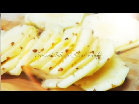 HOW TO CUT PINEAPPLE EASILY AT HOME SIMPLE WAY TO CUT PINEAPPLE CLEAN & DELICIOUS  KITCHEN TIPS