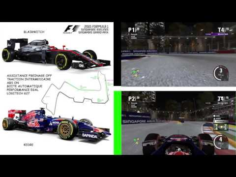 F1 2015 Singapore