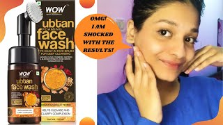 Wow Skin Science Ubtan Foaming Face Wash Review | *Not Sponsored*