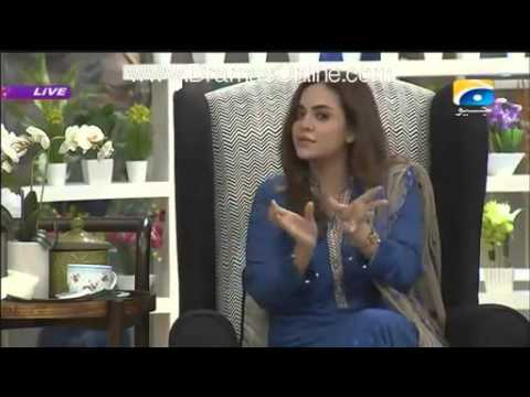 Most Shocking Answer on Vulgarity By Soha Ali Abro
