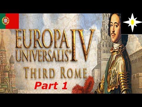 Eu4 Third rome Portugal part 1 build new empire
