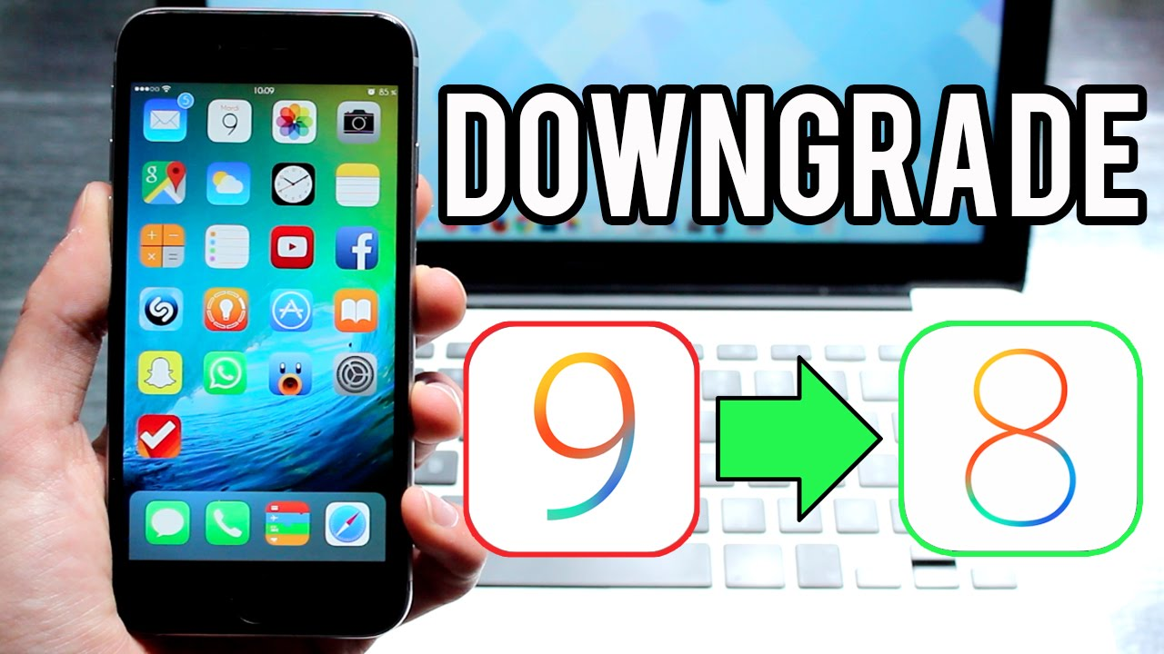 downgrading ios 9.1 to 9