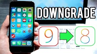 Downgrade de iOS 9 vers iOS 8.4 (iPhone, iPad, iPod touch)