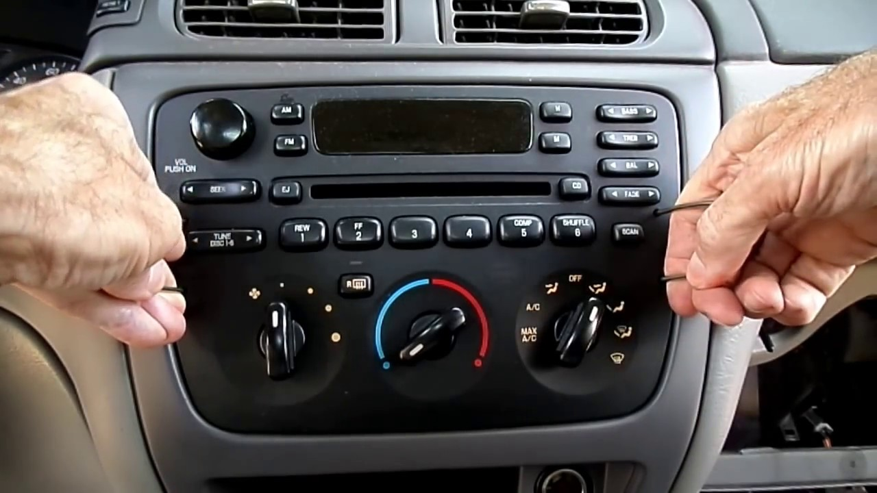 Ford Taurus Radio,Headlight Switch, Instrument Cluster