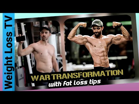 real-truth-about-hrithik-roshan's-war-transformation-by-weight-loss-tv