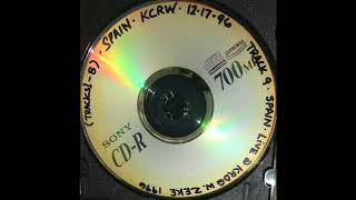 """Spain - """"Untitled No  1"""" KROQ-FM Los Angeles """"Music From Your Own Backyard"""" 14 November 1996"""