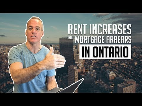 Rent Increases & Mortgage Arrears in Ontario