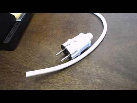 Как подключить 3 провода к вилке