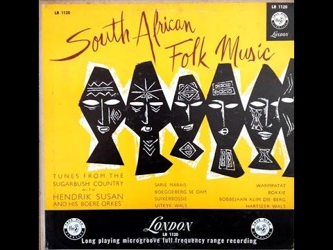 "Hendrik Susan ""South African Folk Music"" 1954 10 inch FULL ALBUM"