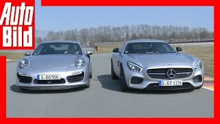 Sportliches Duell - AMG GT S vs. 911 Turbo (2015)