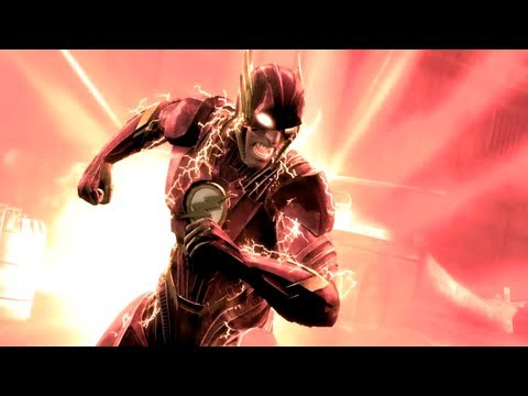 Injustice: Gods Among Us - Flash vs Joker Battle Arena