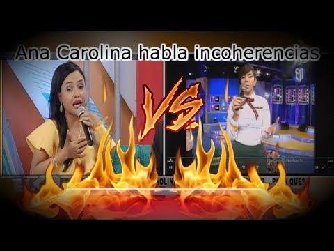 La Shanty arremete contra Ana Carolina por su comentario en Mas Roberto
