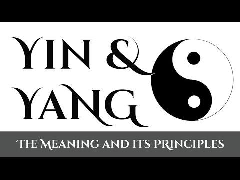 Yin Yang - The Meaning of Yin and Yang