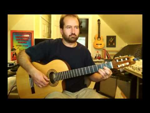 Simple Gifts FREE Guitar Tab by John McCoy from McCoy Music LLC (Skype Guitar Lessons On Webcam)