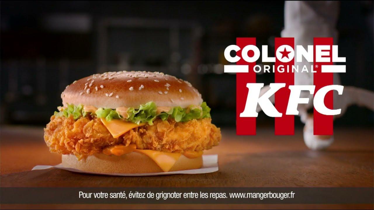 """Musique de la pub Colonel Original KFC """"parce que c'est son nom""""  Mai 2021"""
