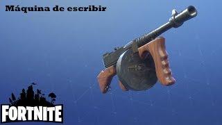 No aiming / Typewriter (Tommy Gun) Fortnite: Saving the world #169