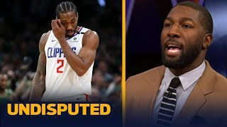 Clippers' constant injury woes could cost the team spot in the Finals — Jennings   NBA   UNDISPUTED
