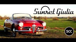 ALFA Romeo Giulia 1600 Spider 1962 - Test Drive in top gear | SCC TV