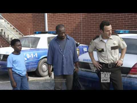 Talking Dead Andrew Lincoln on Lennie James Morgan