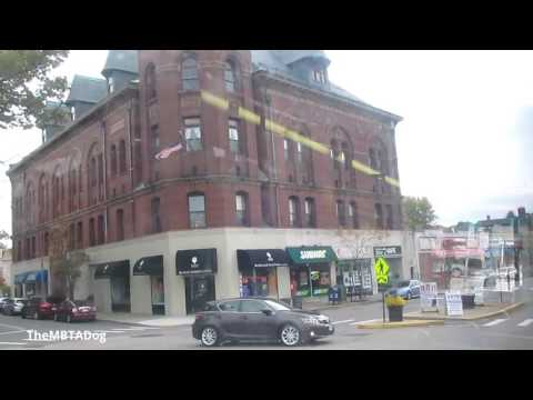 TheMBTADog: MBTA Bus 59 Ride - WATERTOWN SQUARE to NEEDHAM JUNCTION via NEWTON [NABI CNG 2147]