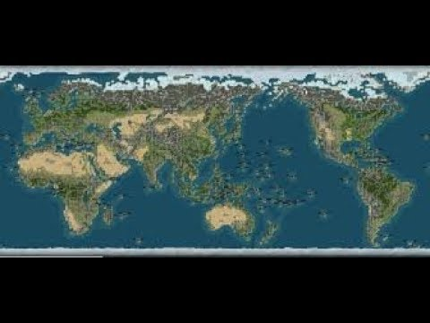 Civ 4 Earth Map.Streaming Civilization 4 Giant Earth Map 2 Youtube