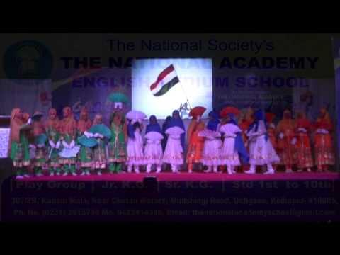 National Academy School Gathering 2016 Sare Jahan Se Acha