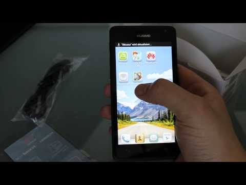 HUAWEI Ascend Y530 Einsteiger Smartphone mit Android 4.3 Unboxed Test Review
