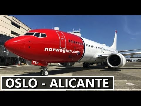✈️ X-PLANE 11 | OSLO (ENGM) - ALICANTE (LEAL) | NORWEGIAN B737 | LIVE ONLINE FLIGHT