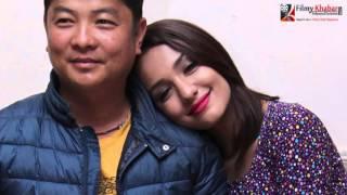 Priyanka Karki & Dayahang Rai On/Off Screen Love || Video Report || Gossip | FilmyKhabar.com