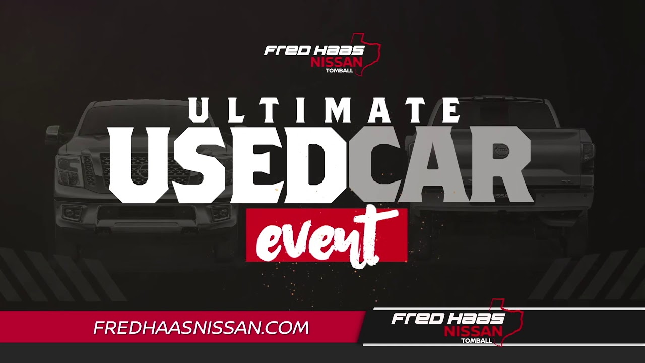 fred haas nissan ultimate used car event youtube. Black Bedroom Furniture Sets. Home Design Ideas