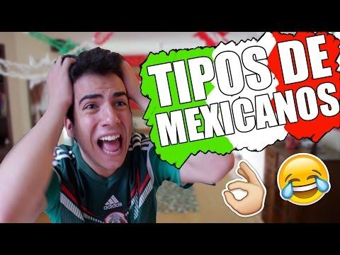 TIPOS DE MEXICANOS   Gonzok