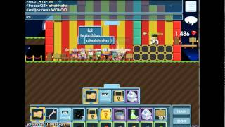 Growtopia: Carnival Jens Performing a Magic Show