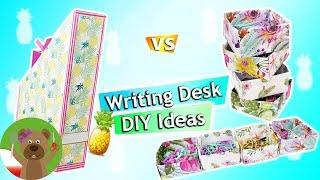 Pomysły na biurko | DIY Back to school | dekoracja biurka