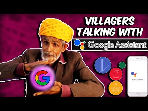 Villagers Talking With Google Assistant ! Tribal People Try Google Assistant