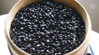 [sub]•◡•゜서리태콩 찌기, 콩 송편소 만들기, S…