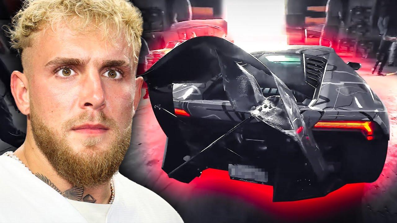 I almost killed Jake Paul with a Lamborghini