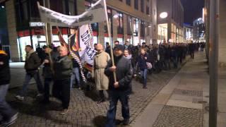 PEGIDA in Dresden am 09.03.2015 - 18:30 Uhr in HD