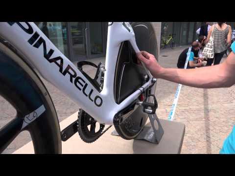 Richie Porte's Giro d'Italia time trial bike