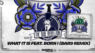 Download Dirt Monkey & Shank Aaron - What It Is (feat. Born I) (BAR9 Remix) MP3 song and Music Video
