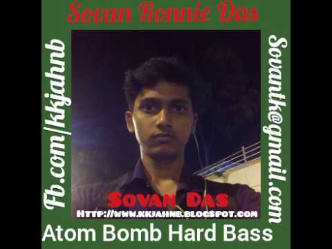 Dj song of atom bomb atom bomb || movie muqadar || hard bass mix sovan das