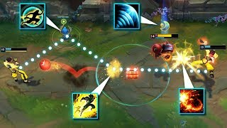 Calculating The PERFECT Attack - Clean Outplays Montage - League of Legends