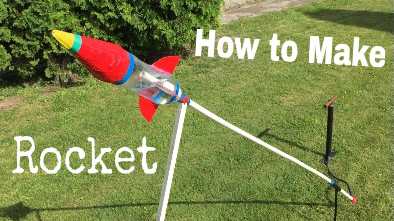 How To Make An Airsoft Rocket Out Of Plastic Bottle Water