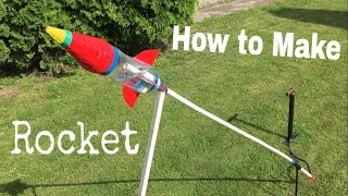 How to Make an Airsoft Rocket Out of Plastic Bottle (Water Rocket) - Tutorial